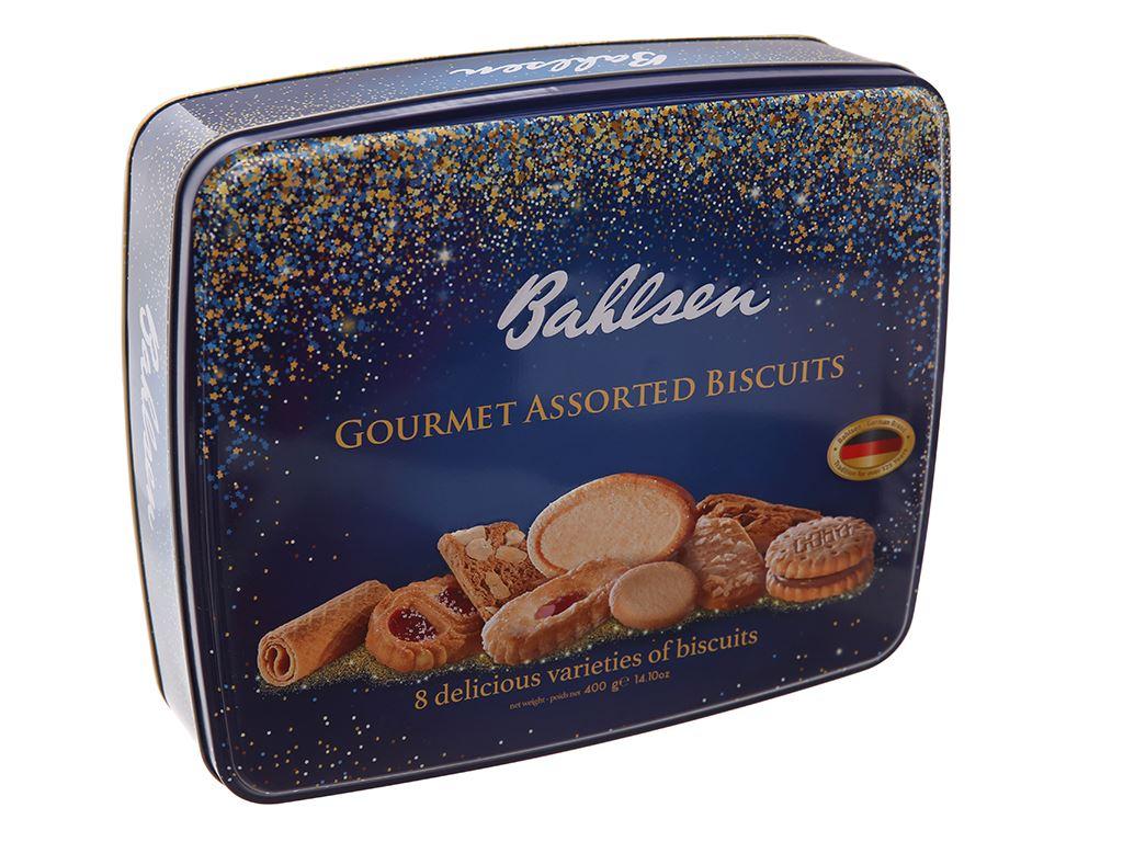 Bánh quy thập cẩm Bahlsen hộp 400g 2