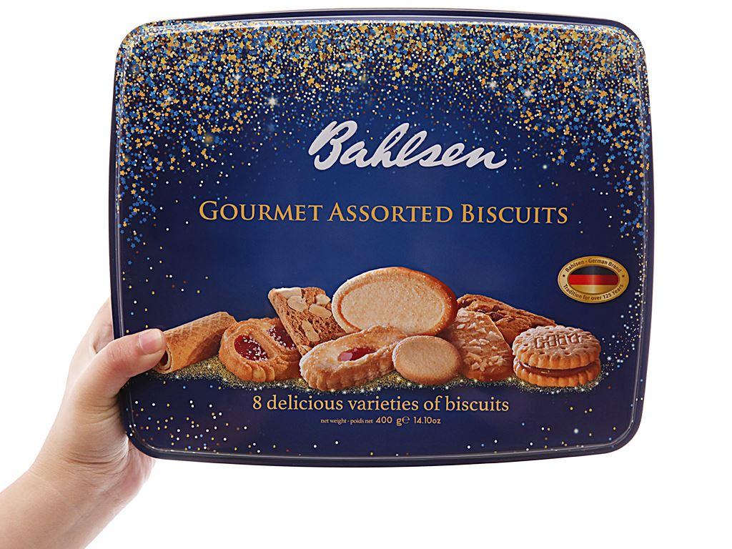 Bánh quy thập cẩm Bahlsen hộp 400g 4