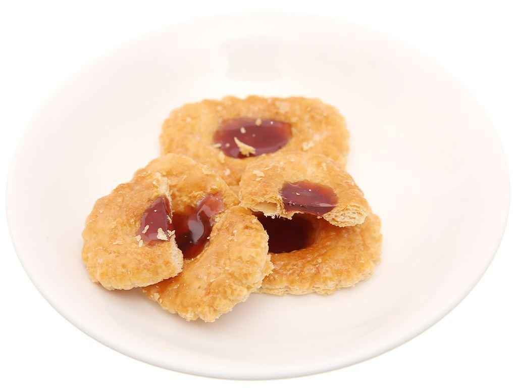 Bánh quy nhân lý chua đỏ Bahlsen Deloba hộp 100g 3