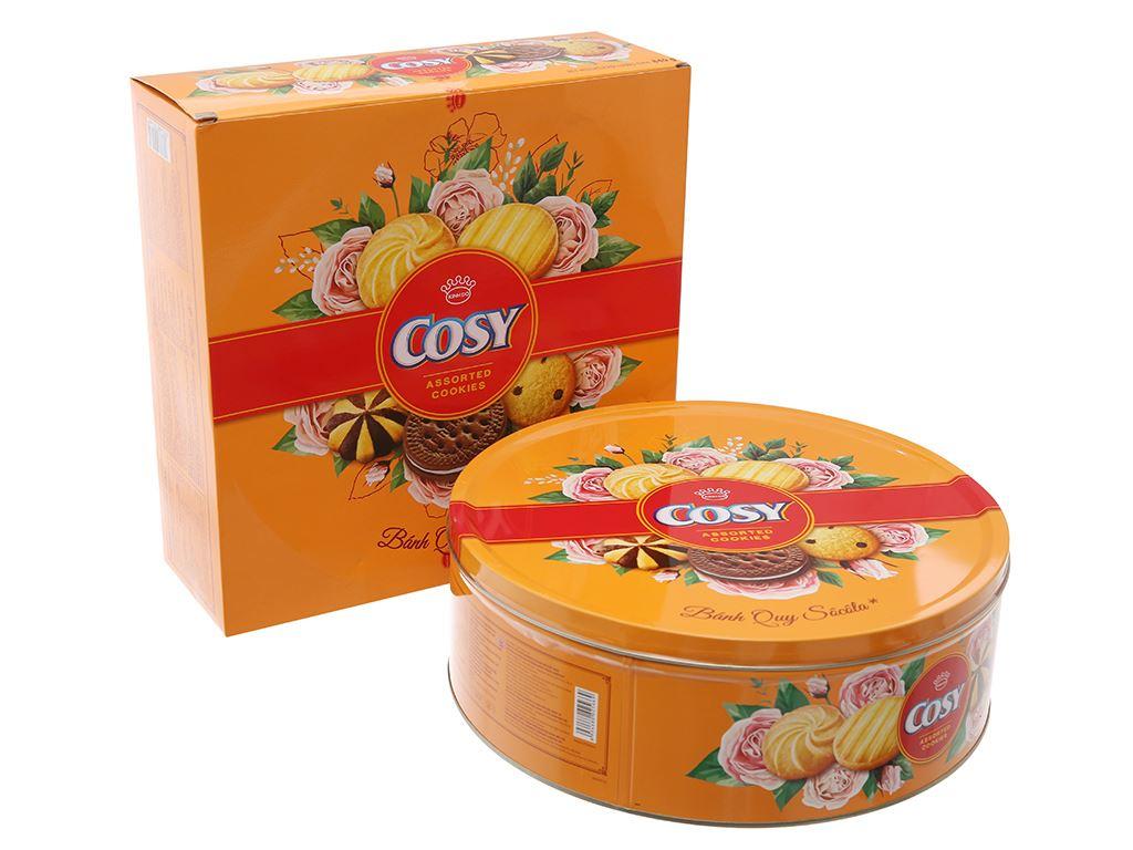 Bánh quy thập cẩm sô cô la Cosy hộp 840g 1