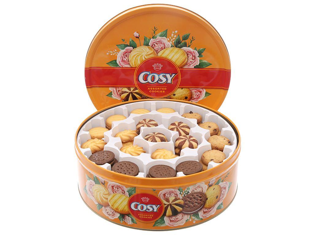 Bánh quy thập cẩm sô cô la Cosy hộp 840g 2