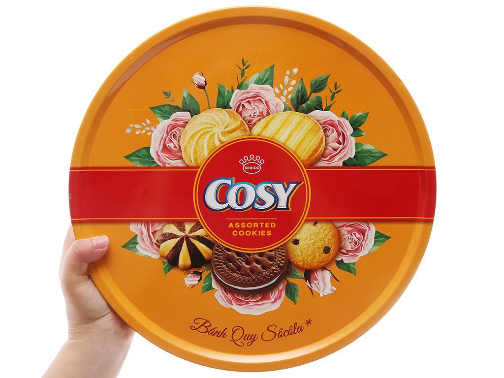 Bánh quy thập cẩm sô cô la Cosy hộp 840g 4
