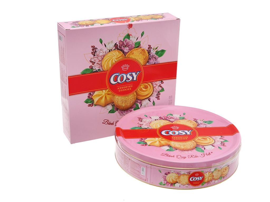 Bánh quy thập cẩm rắc hạt Cosy hộp 378g 1