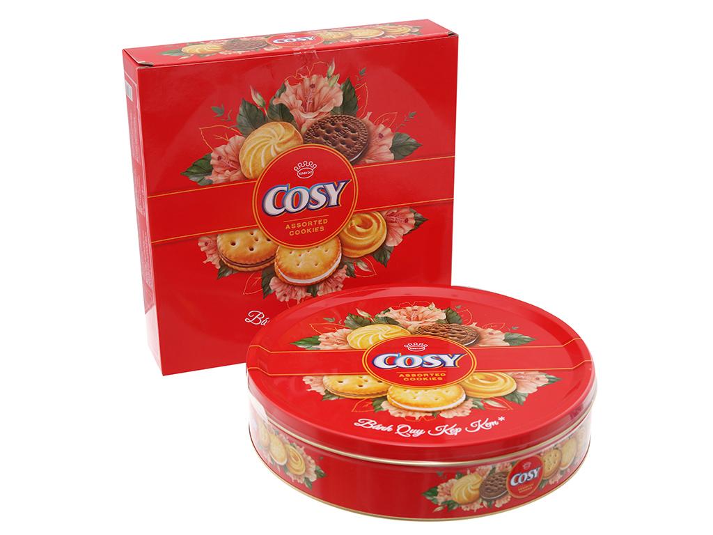 Bánh quy Kẹp kem Cosy thập cẩm 378g 1