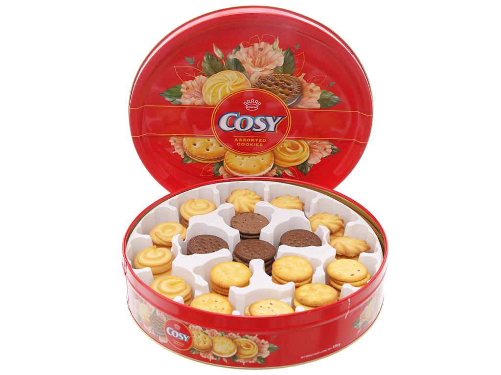 Bánh quy Kẹp kem Cosy thập cẩm 378g 2