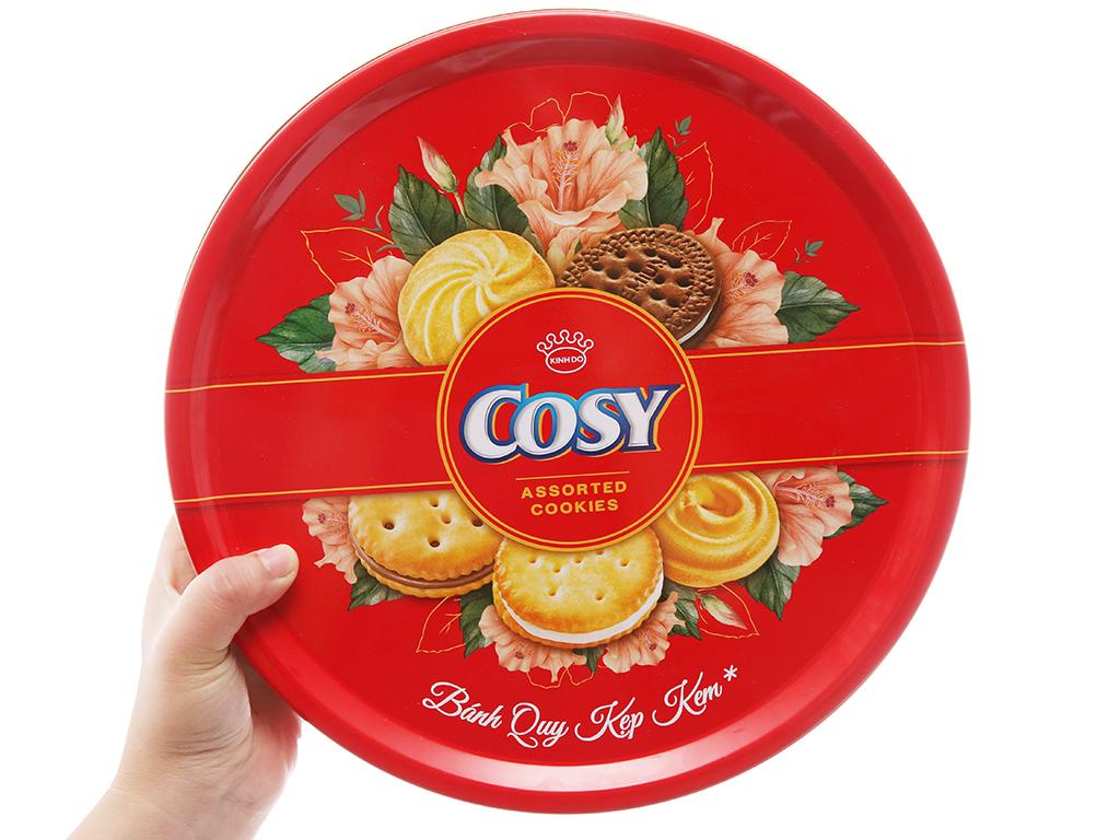 Bánh quy Kẹp kem Cosy thập cẩm 378g 4