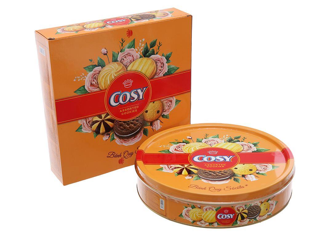 Bánh quy thập cẩm socola Cosy hộp 378g 2