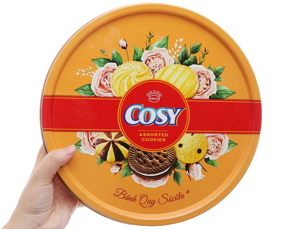 Bánh quy thập cẩm socola Cosy hộp 378g 3