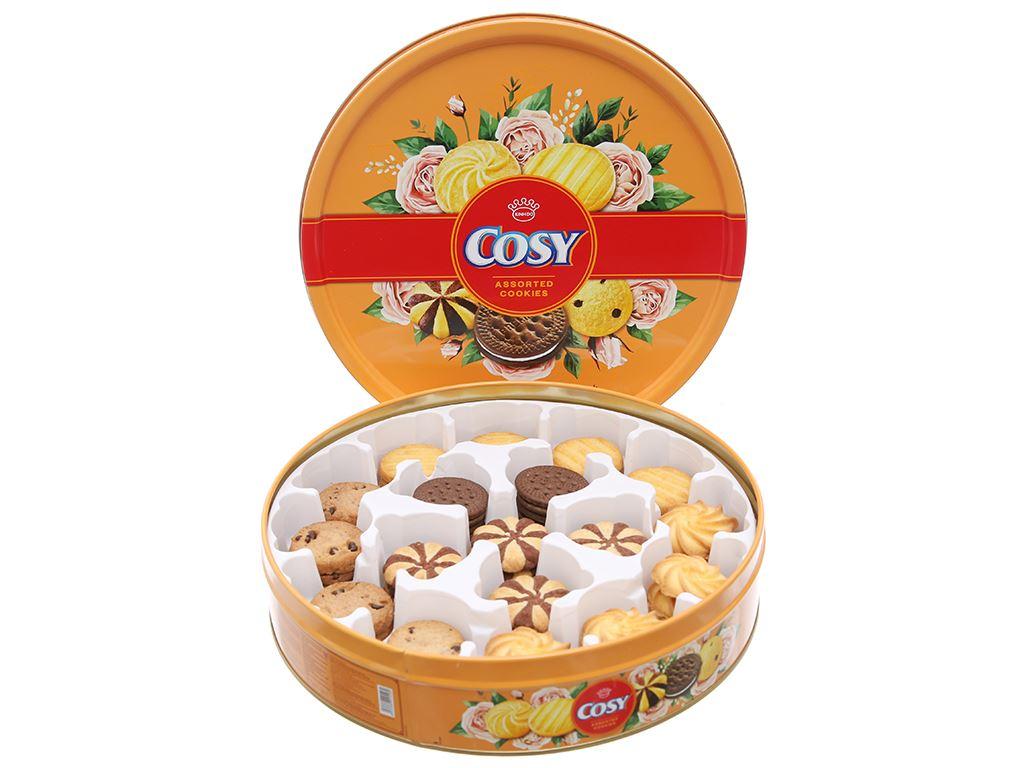 Bánh quy thập cẩm socola Cosy hộp 378g 4