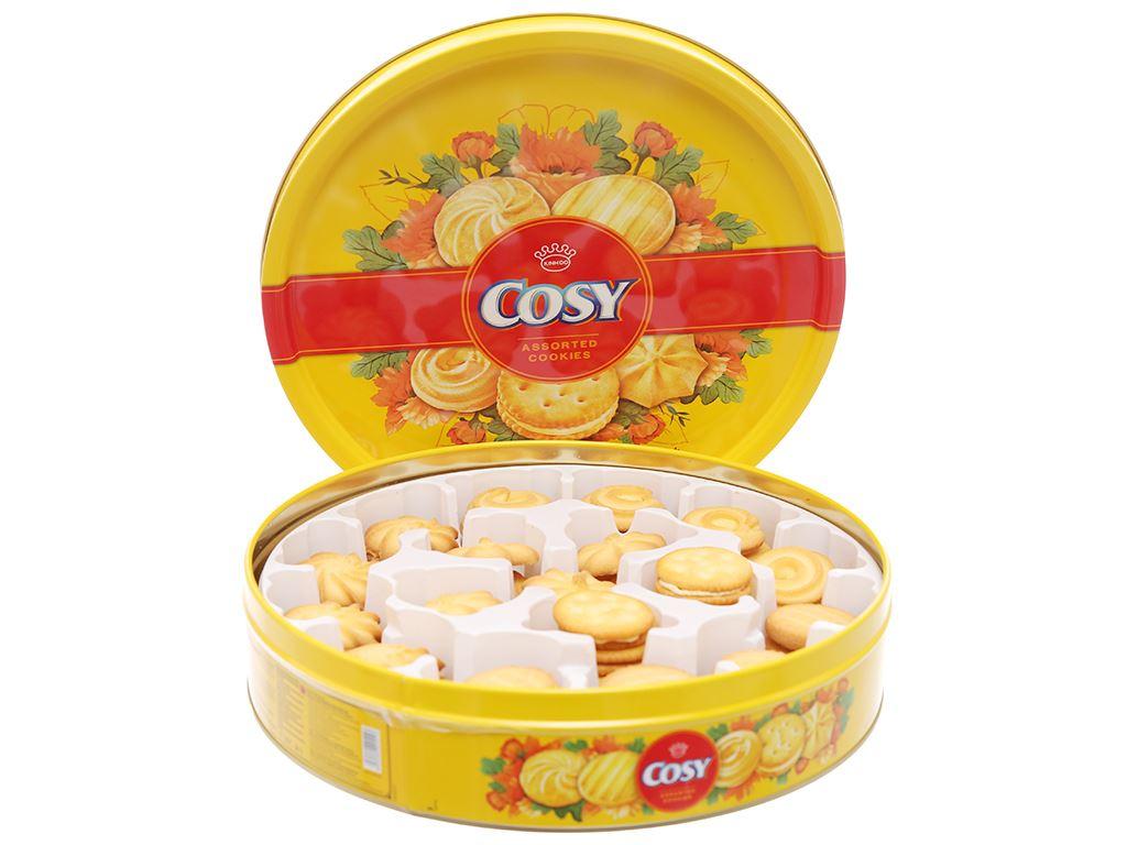 Bánh quy Bơ sữa kẹp kem Cosy thập cẩm 378g 2