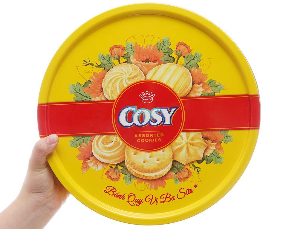 Bánh quy Bơ sữa kẹp kem Cosy thập cẩm 378g 4