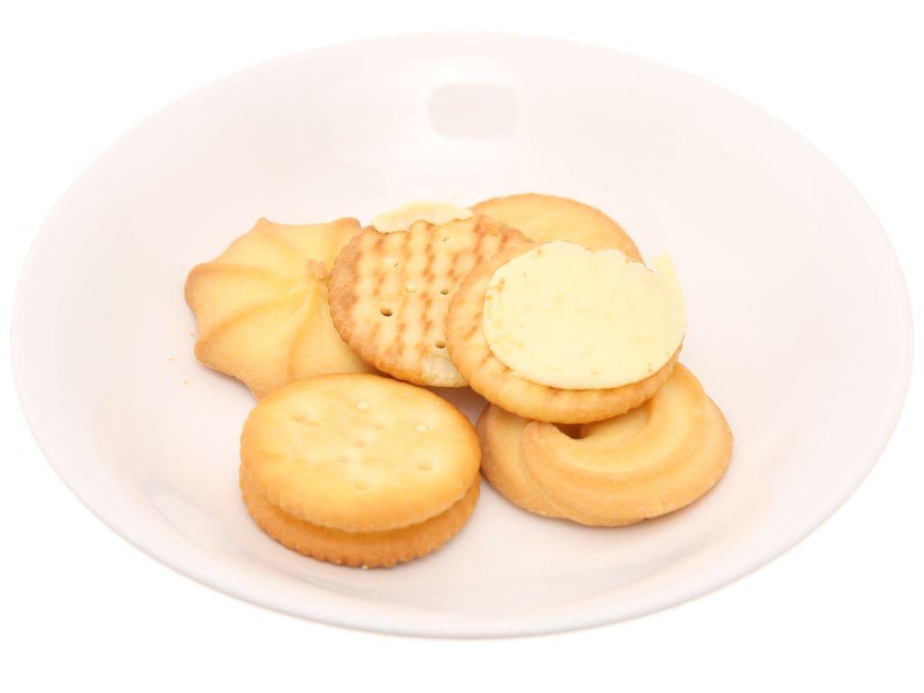 Bánh quy Bơ sữa kẹp kem Cosy thập cẩm 378g 3
