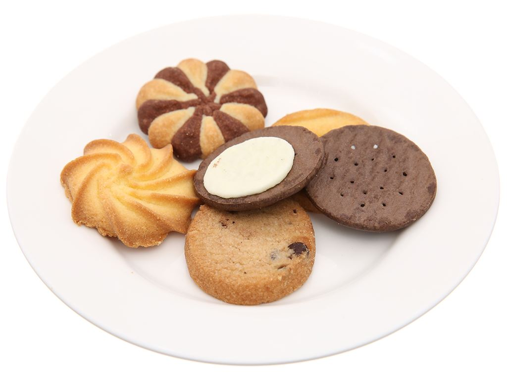 Bánh quy thập cẩm socola Cosy hộp giấy 378g 2