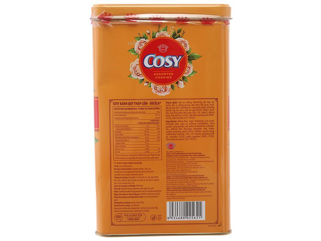 Bánh quy thập cẩm Cosy hộp 630g 3