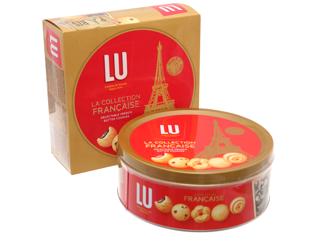 Bánh quy LU La Collection Francaise bơ pháp 310g 2