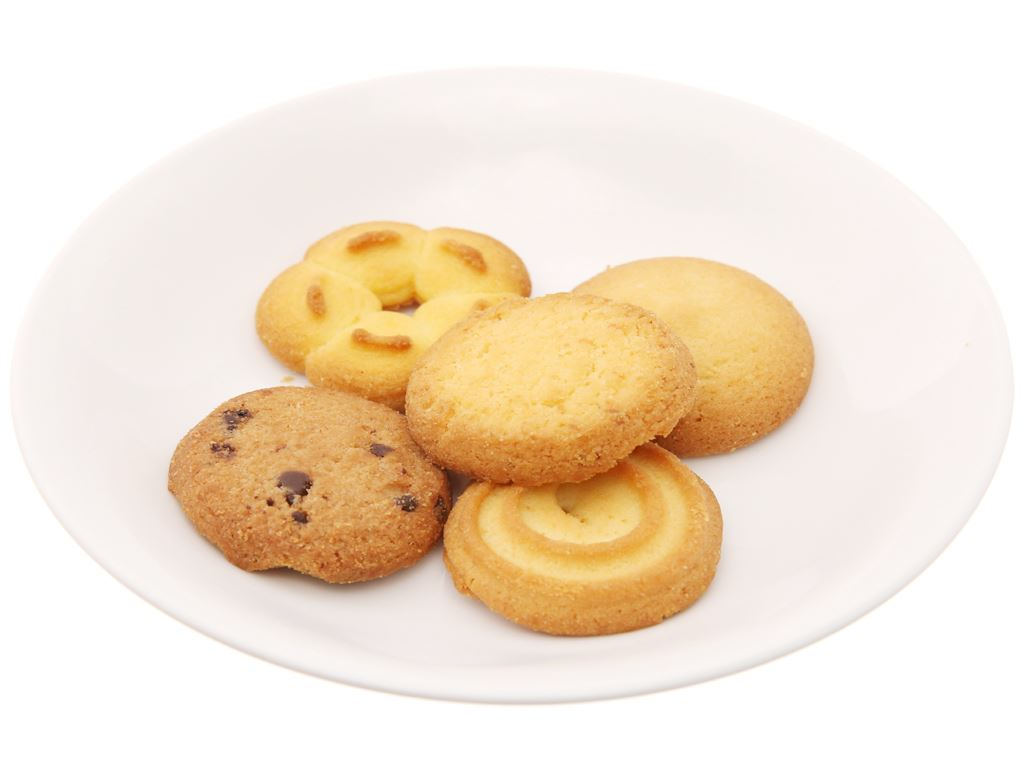 Bánh quy bơ LU hộp 540g 5