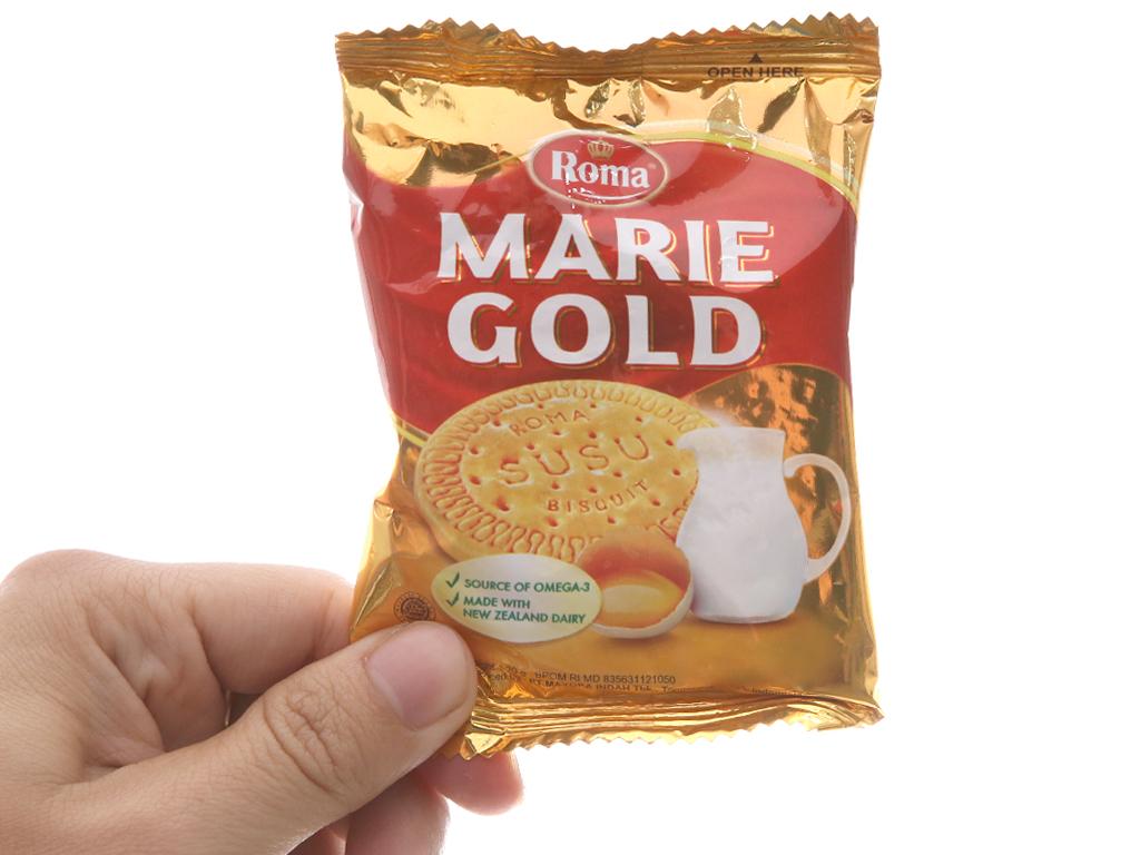 Bánh quy sữa Roma Marie Gold gói 240g 5