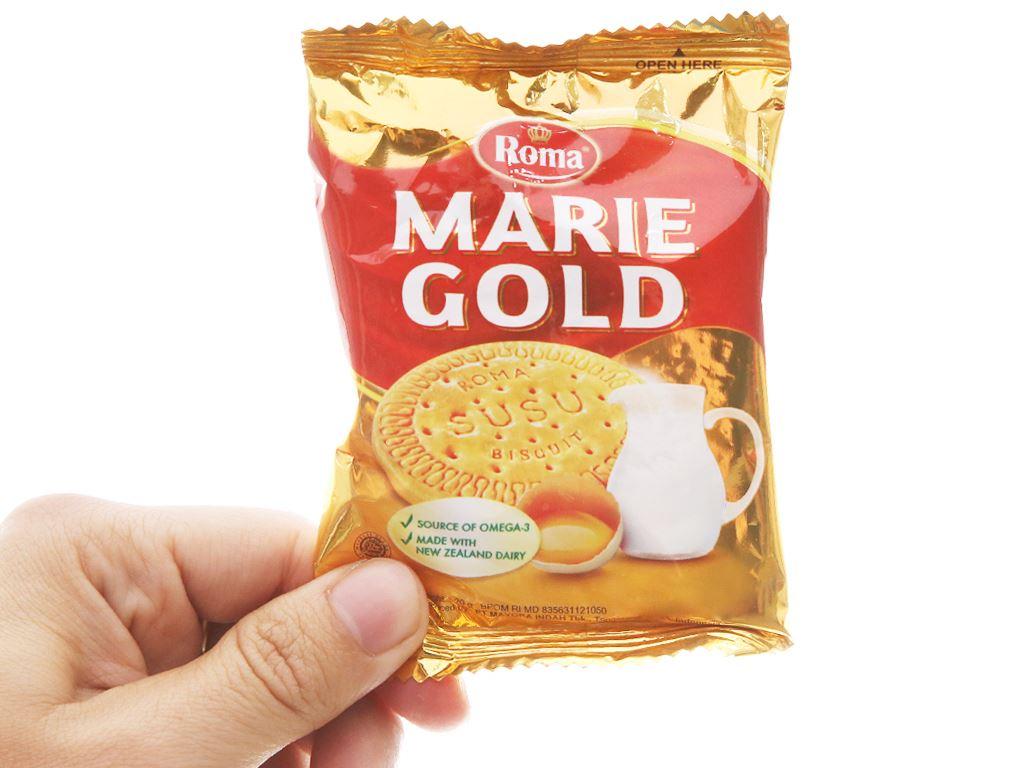 Bánh quy sữa Roma Marie Gold gói 240g 4