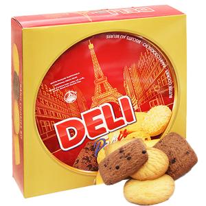Bánh quy bơ Deli Paris hộp 382g