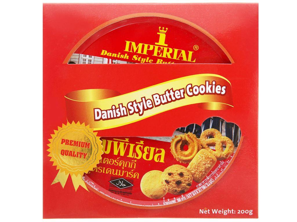 Bánh quy bơ kiểu Đan Mạch Imperial hộp 200g 1