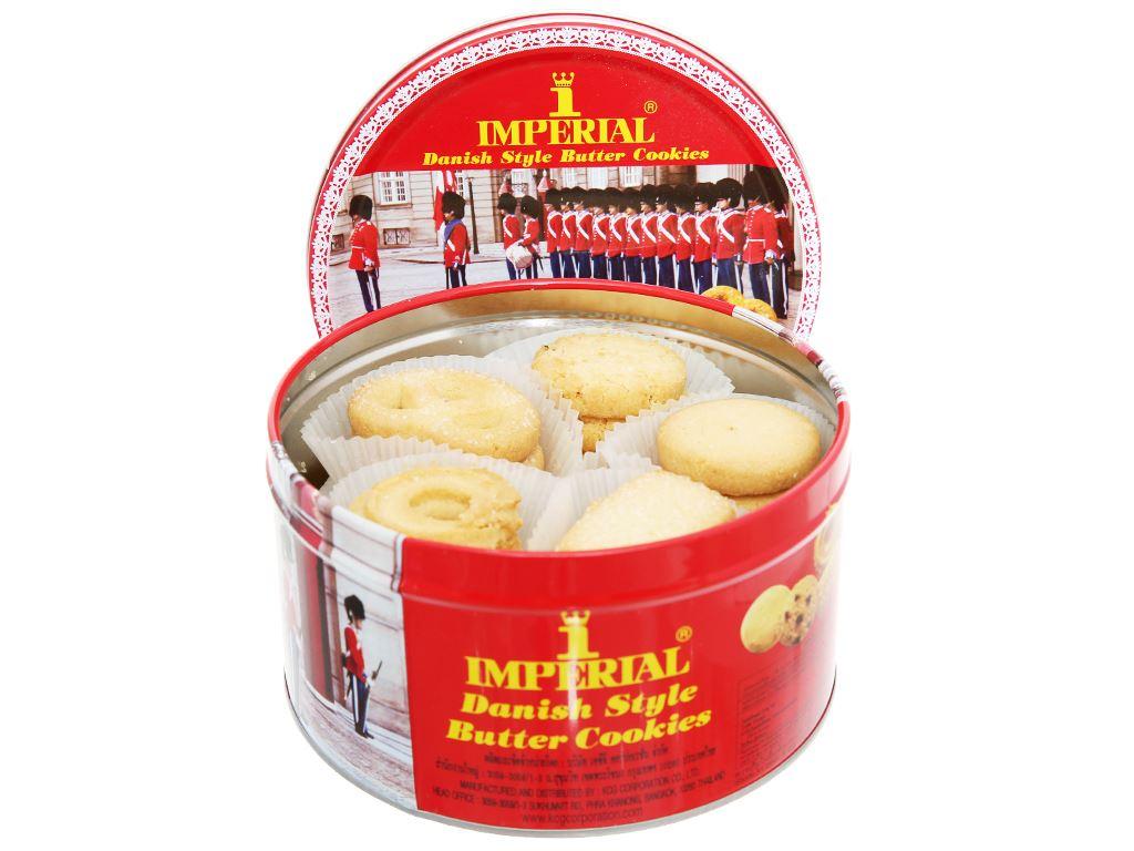 Bánh quy bơ kiểu Đan Mạch Imperial hộp 200g 4