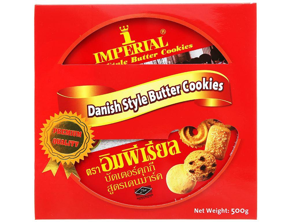 Bánh quy bơ kiểu Đan Mạch Imperial hộp 500g 1