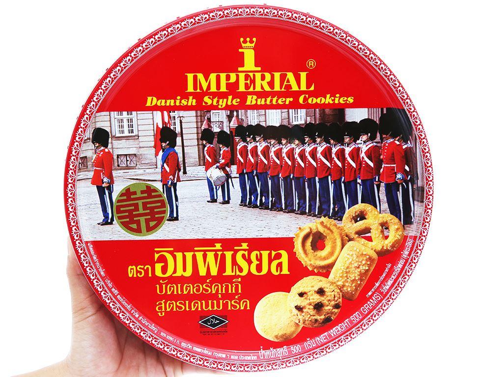Bánh quy bơ kiểu Đan Mạch Imperial hộp 500g 3