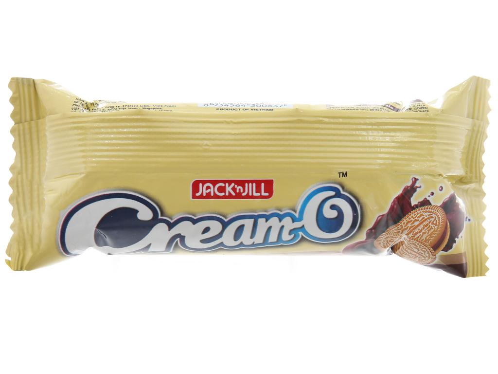 Bánh quy kem hương socola Cream-O gói 54g 2