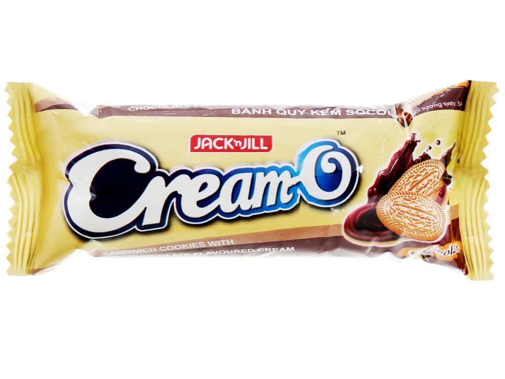 Bánh quy kem socola Cream-O gói 54g 2