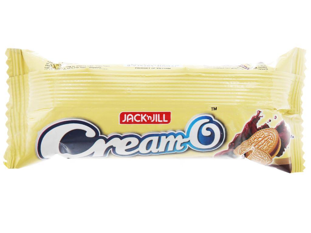 Bánh quy kem socola Cream-O gói 54g 3