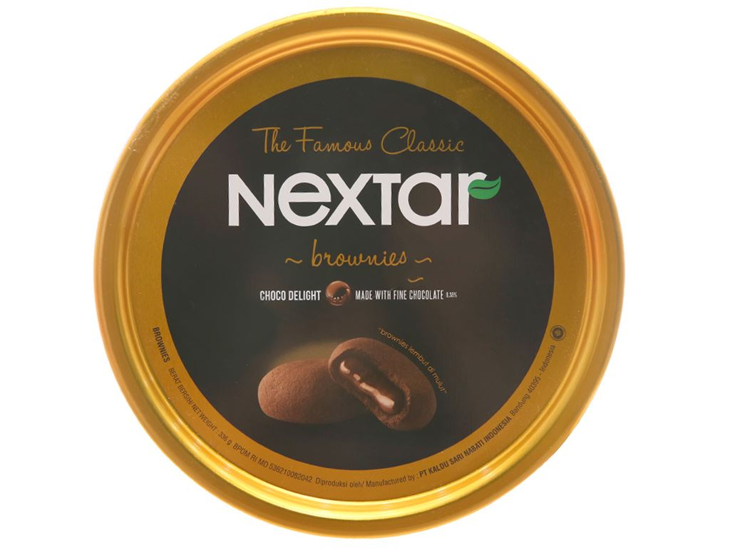 Bánh quy Nextar Brownies 336g 2