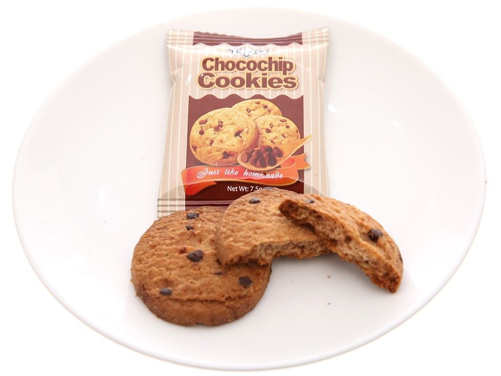 Bánh quy Chocochip Cookies Tipo hộp 75g 5