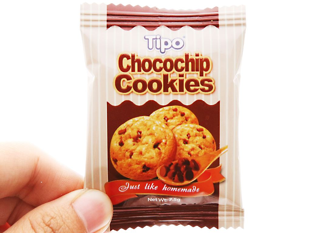 Bánh quy Chocochip Cookies Tipo hộp 75g 4