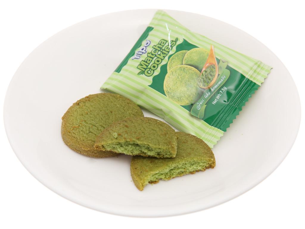 Bánh quy trà xanh Tipo gói 180g 3