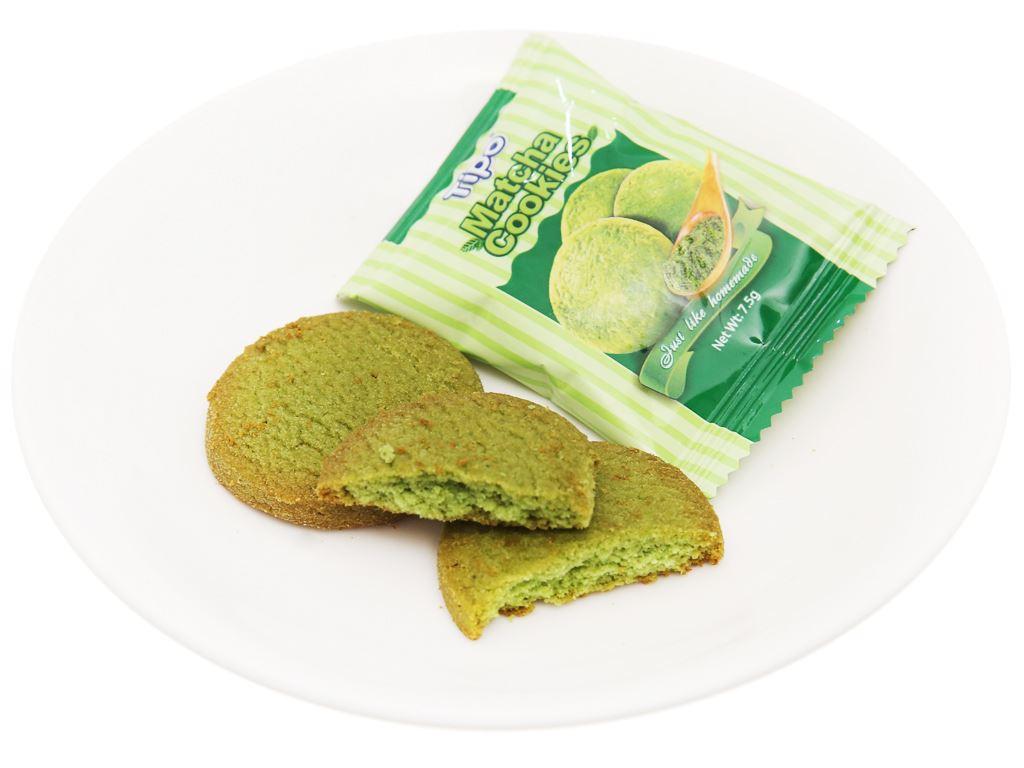 Bánh quy trà xanh Tipo gói 180g 4