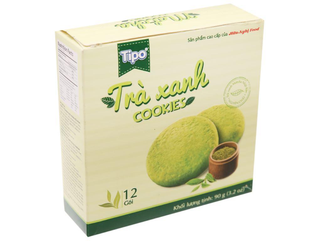 Bánh quy trà xanh Tipo hộp 90g 1