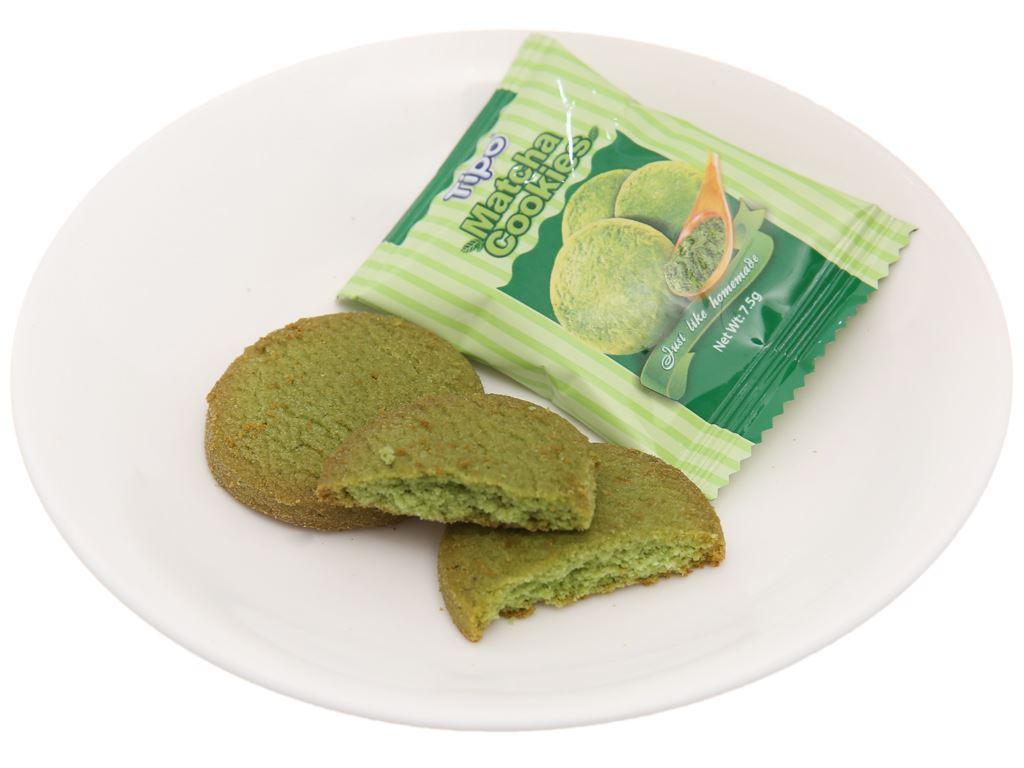 Bánh quy trà xanh Tipo hộp 90g 3