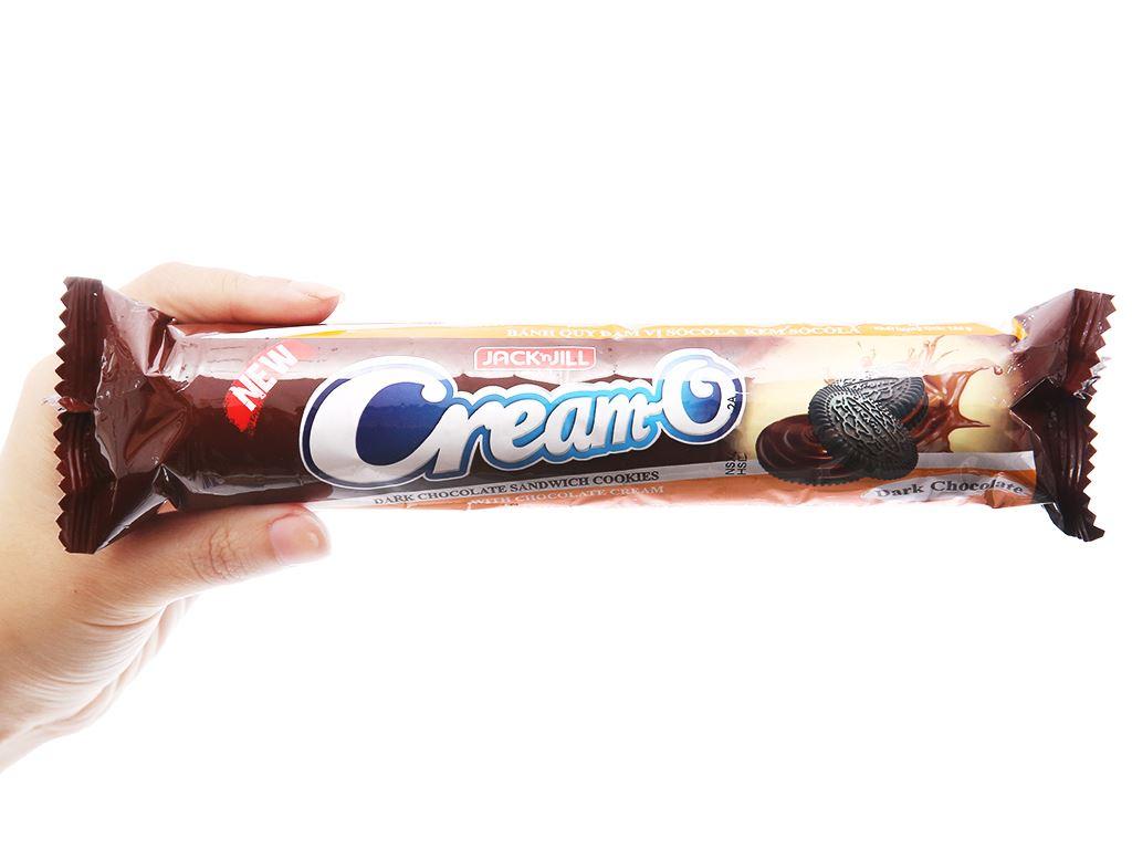 Bánh quy đậm vị socola kem socola Cream-O gói 126g 3