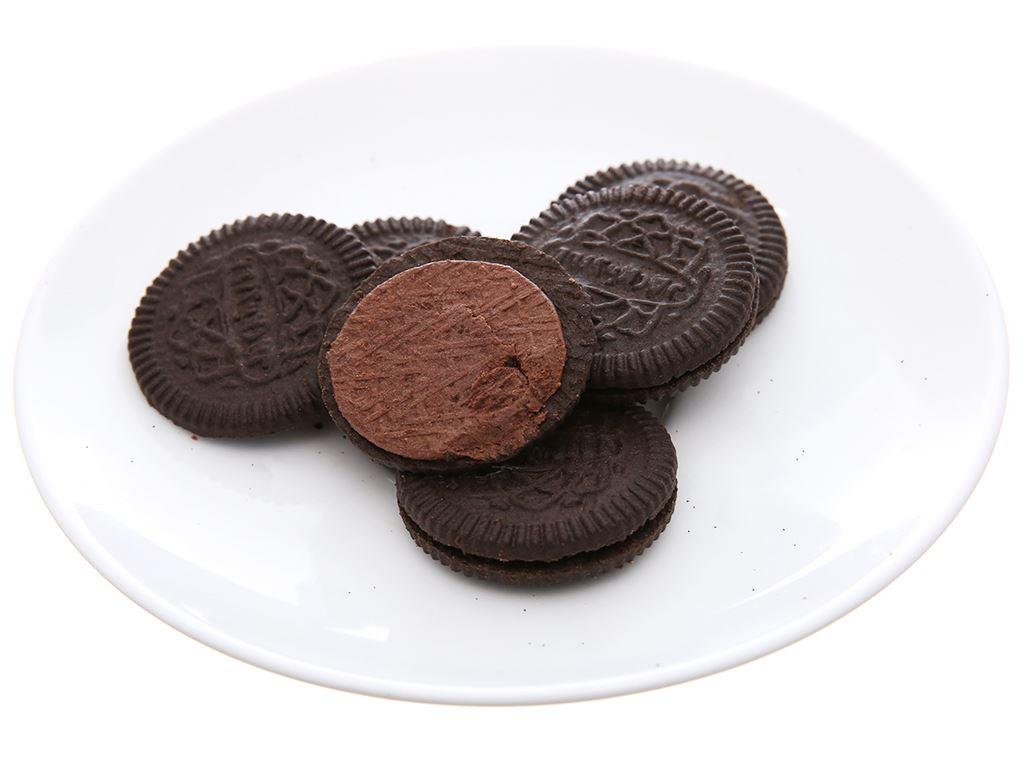 Bánh quy đậm vị socola kem socola Cream-O gói 126g 4