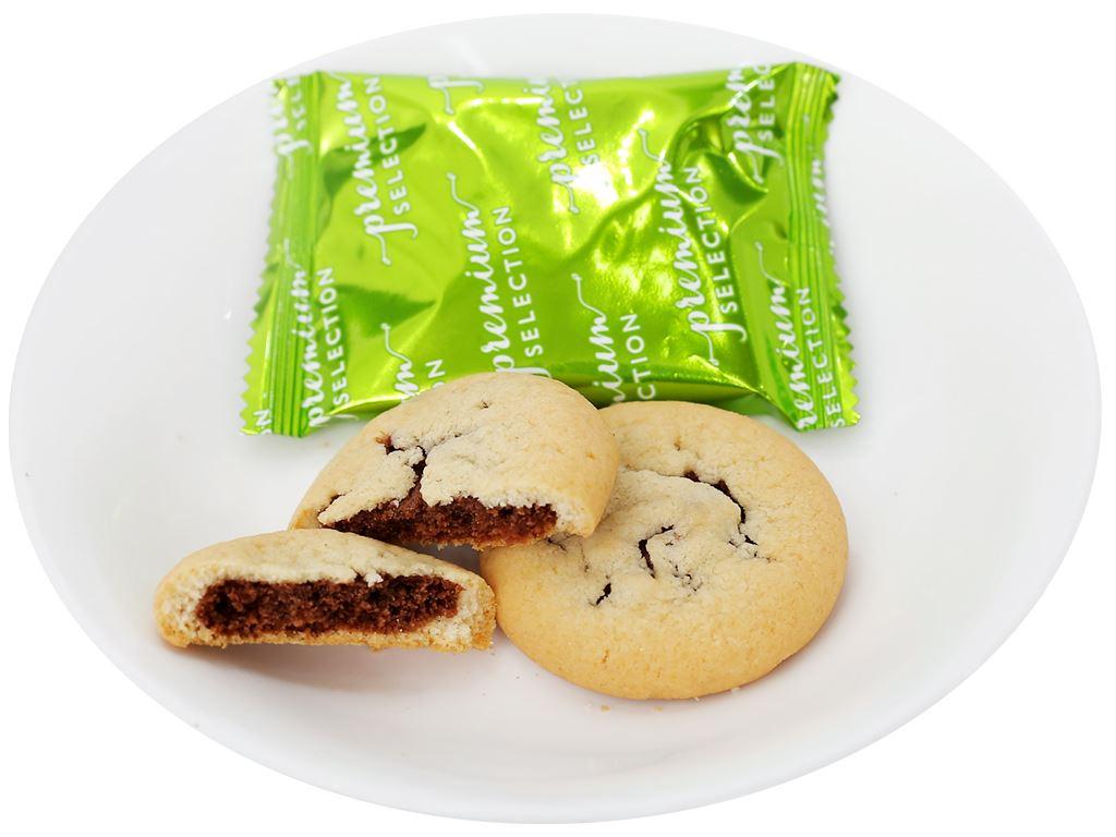 Bánh quy socola chip và nho khô O&T Chocobites gói 120g 4