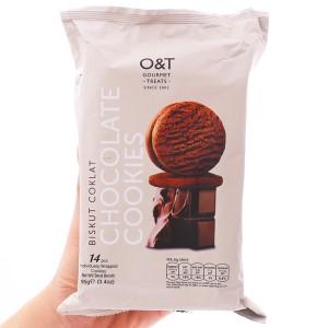 Bánh quy socola O&T gói 95g (14 bánh)