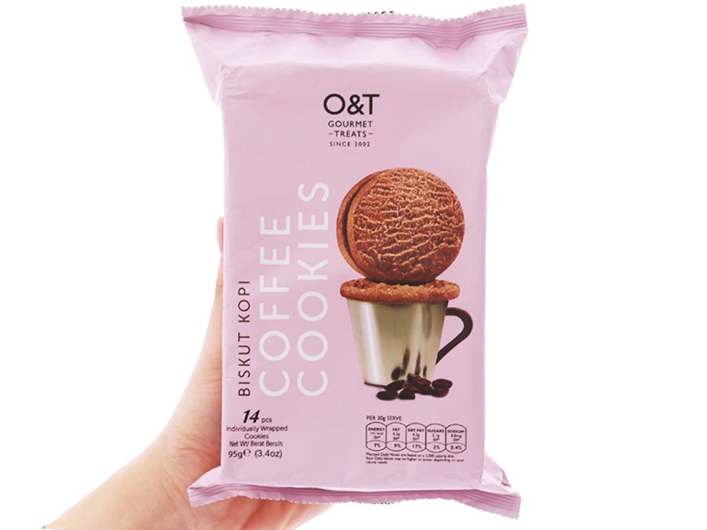 Bánh quy cà phê O&T gói 95g (14 bánh) 3