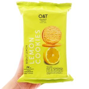 Bánh quy hương chanh O&T gói 95g (14 bánh)