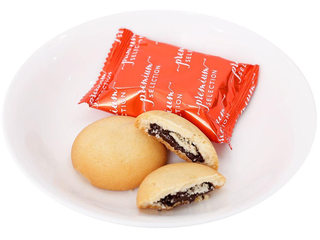 Bánh quy nhân socola O&T Chocobites gói 120g 3