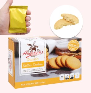 Bánh quy bơ truyền thống Andersen's Danish hộp 100g