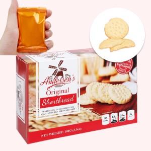 Bánh quy Andersen's Shortbread hộp 100g