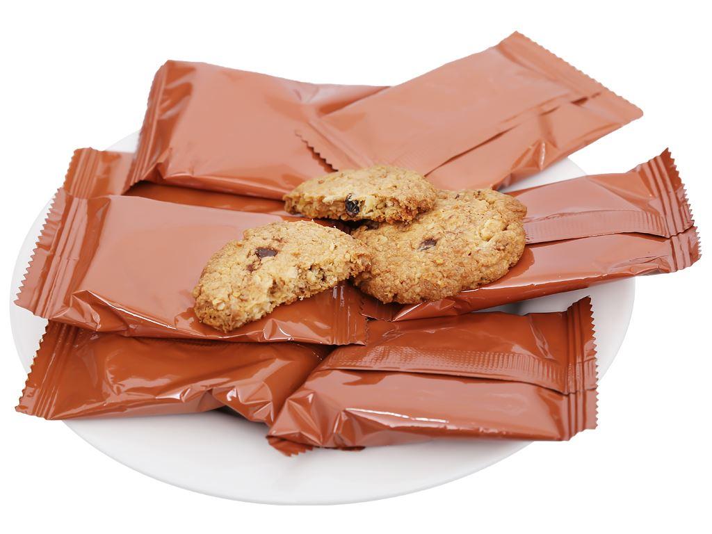 Bánh quy nho khô và choco chips Andersen's hộp 100g 5