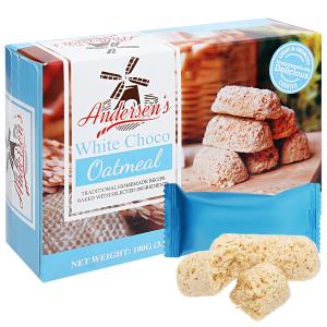 Bánh quy yến mạch chocolate sữa Andersen's hộp 100g