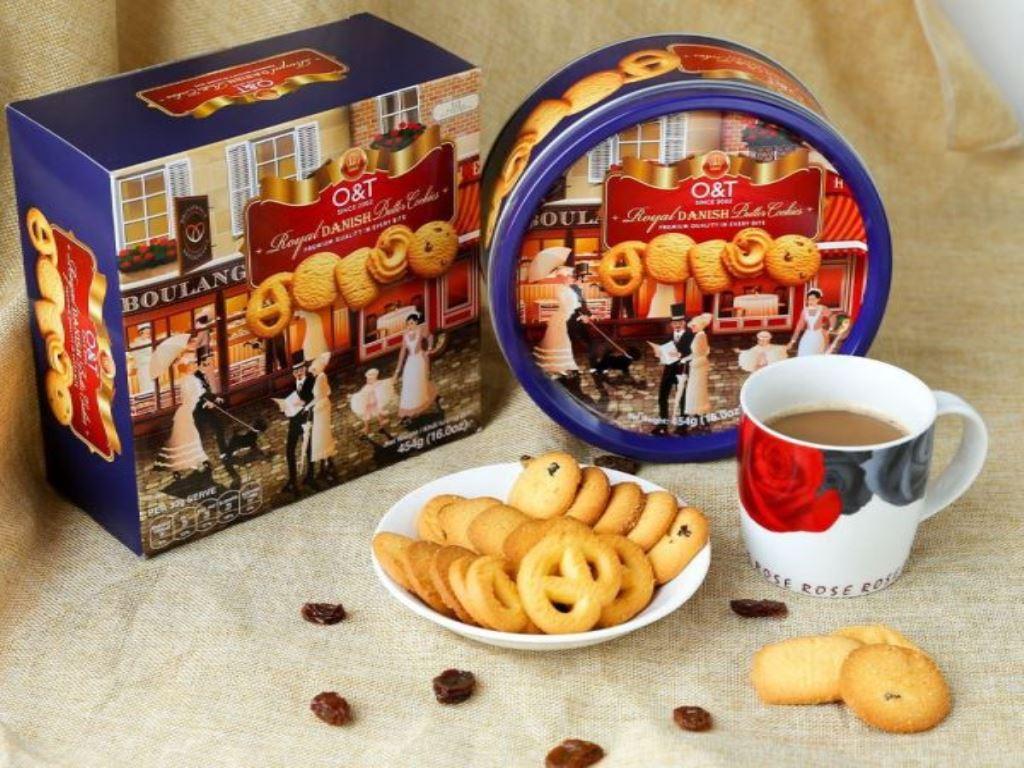 Bánh quy bơ O&T Royal Danish hộp 454g 1