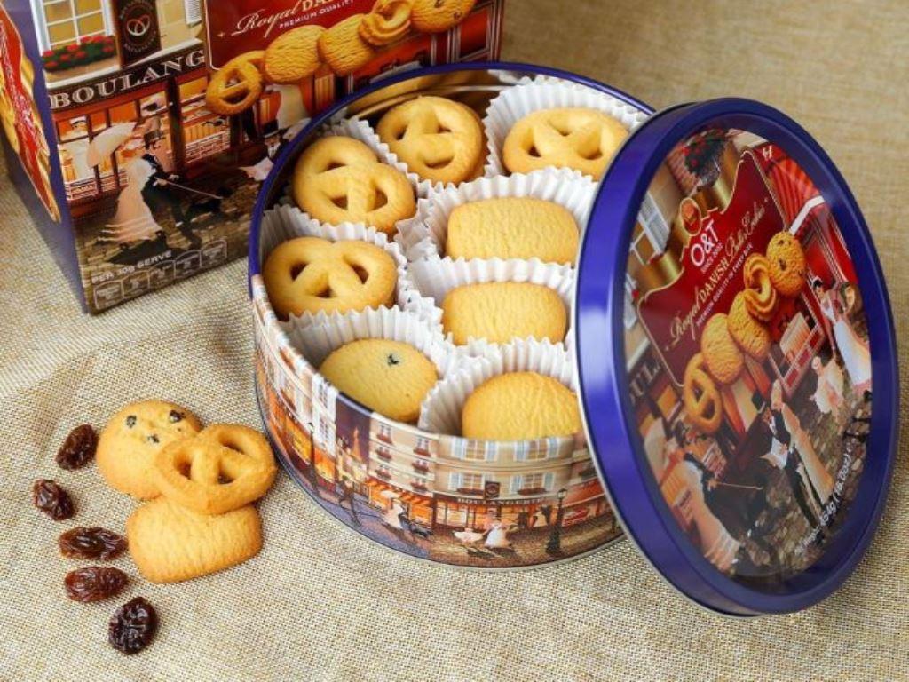 Bánh quy bơ O&T Royal Danish hộp 454g 2